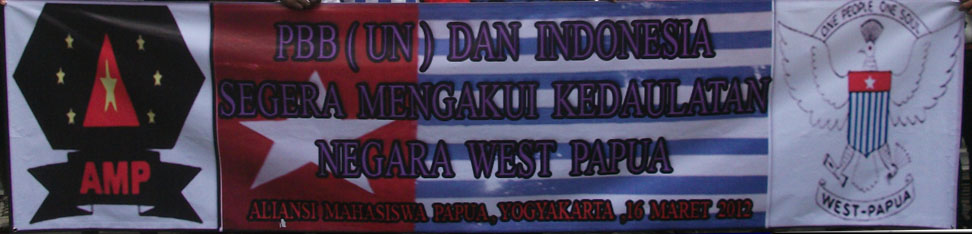 Aliansi Mahasiswa Papua.