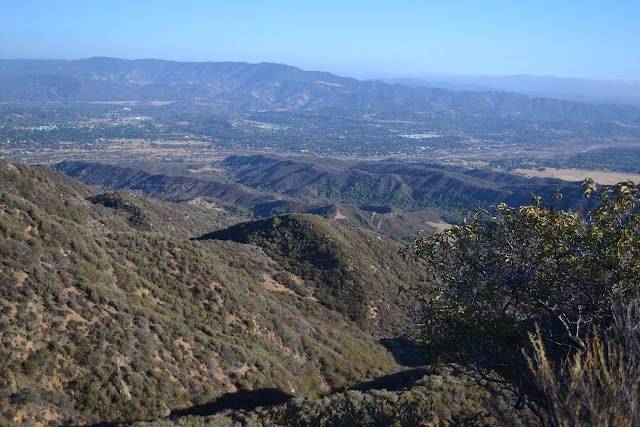 view over the Ojai Valley