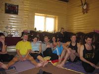 Фоторепортаж с тренинга по ньяса-йоге 12-18 февраля 2012г в Карпатах.752