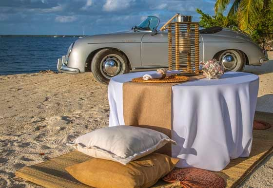 romantic beach weddings in Florida Keys
