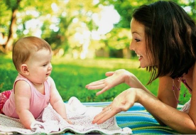 tips latih anak bercakap