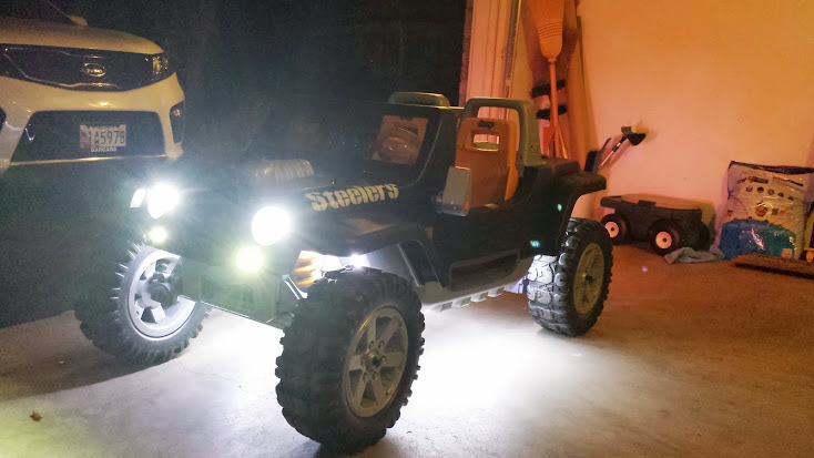Power wheels jeep hurricane motor upgrade