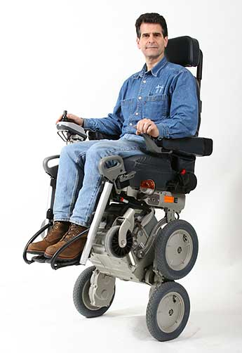 Blue Cheese Nation: Dean Kamen\'s Ibot Wheel Chair Helps Handicapped.
