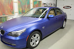 BMW528i - Hexis Blue Pitch Metallic