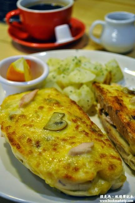 The Baker焙客早午餐白乳酪三明治