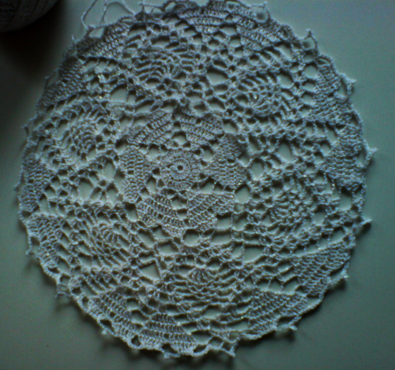 Free Crochet Pattern For Heart Doily : MICROCKNIT CREATIONS: March 2011