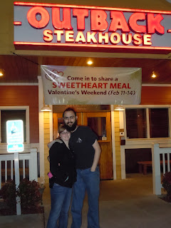 Eaten at Outback Steakhouse