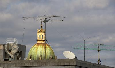 Sizilien - Palermo - Kontraste aufgenommen von der Dachterasse des Kaufhauses Rinascente aus.
