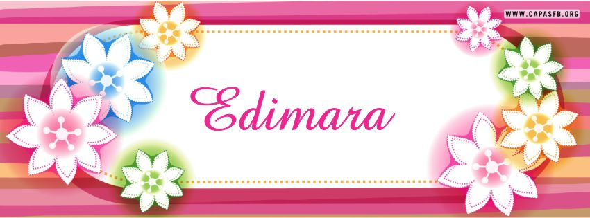 Capas para Facebook Edimara