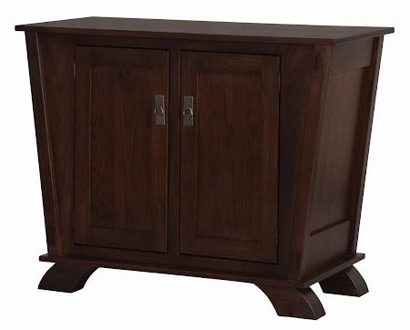 "36"" high x 44"" wide x 20"" deep Baroque Kitchen Buffet in Frontier Oak"