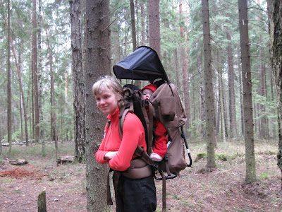 Соня в рюкзаке