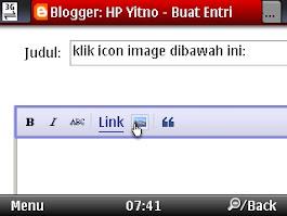 upload gambar atau memasukkan gambar ke situs picasa web via blogspot atau blogger