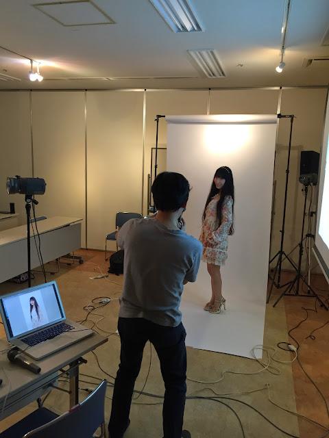 稲垣カメラマン撮影の様子