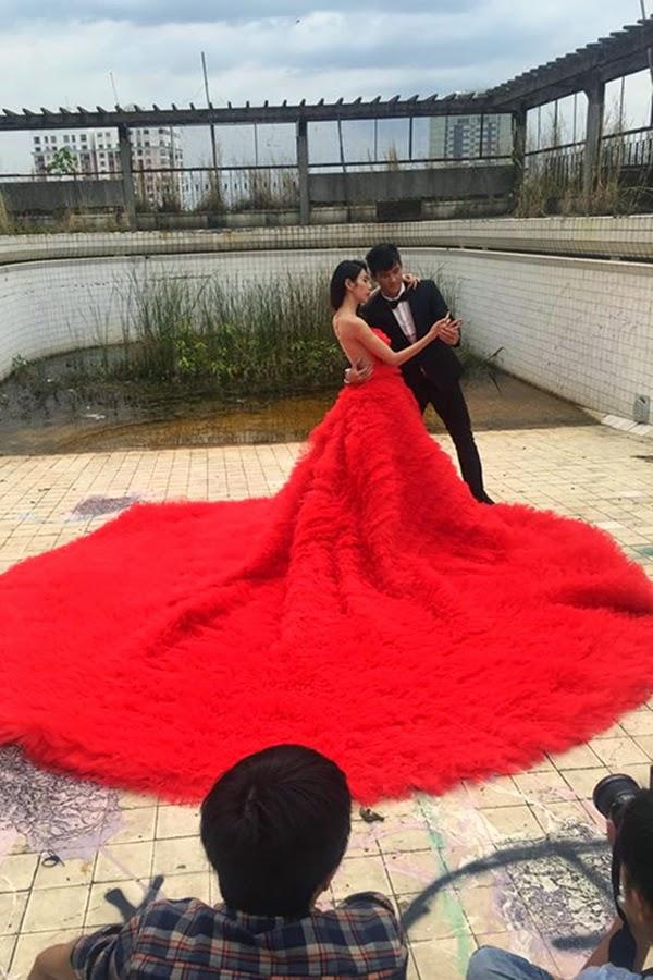 Vợ chồng Thủy Tiên - Công Vinh đi chụp ảnh cưới