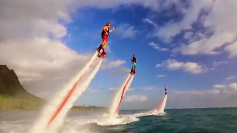Flyboarding Subic Bay Freeport Zone Video