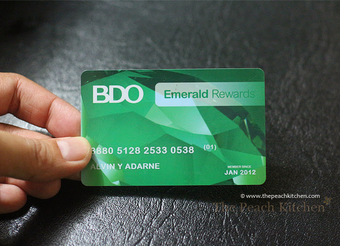 BDO Rewards Cards