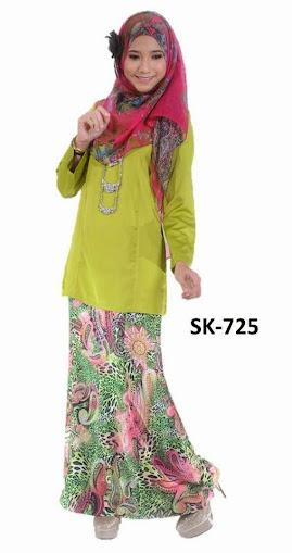 Baju Kurung Malaysia Modern Princess Cut