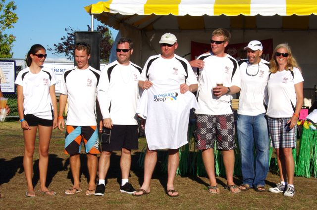 Prowler's Crew at Whidbey Island Race Week 2011
