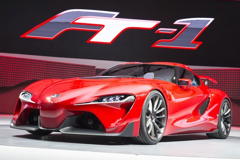 Detroit 2014 Toyota Ft 1 Concept Video