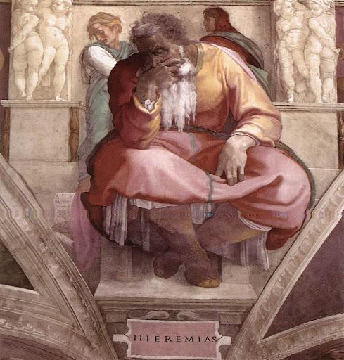 Michaelangelo: Prorok Jermija
