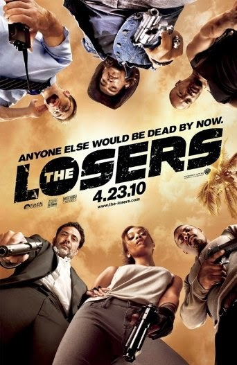 Poster Of English Movie The Losers (2010) Free Download Full New Hollywood Movie Watch Online At Alldownloads4u.Com