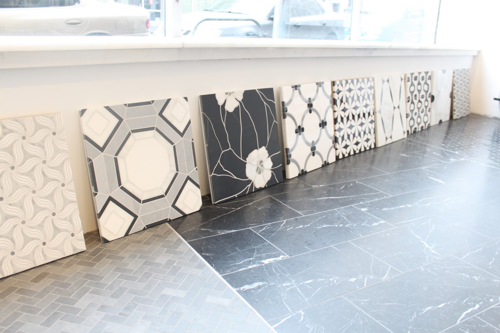 i just adore all these mosaic tiles  i would die to put one of these as a backsplash or a detail behind a cook top range  field trip  ann sacks   michaela noelle designs  rh   michaelanoelledesigns blogspot com