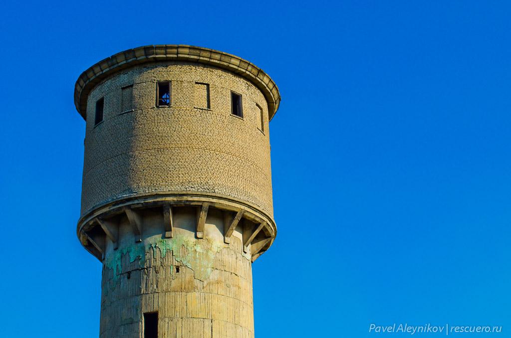Водонапорная башня. Nikon D5100