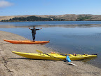 Kayaks at Pebble Beach