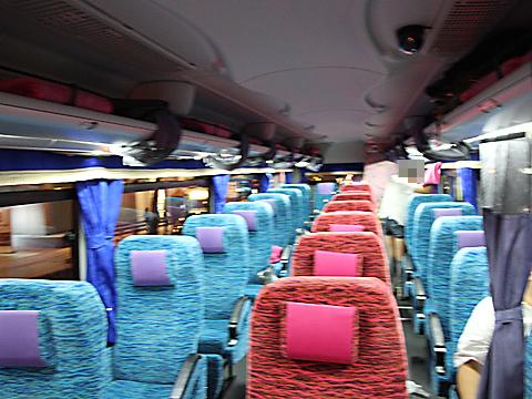 北海道バス「函館特急ニュースター号」 ・988 車内