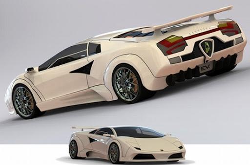 Lamborghini Auto-Suficiente Solar y Eólico