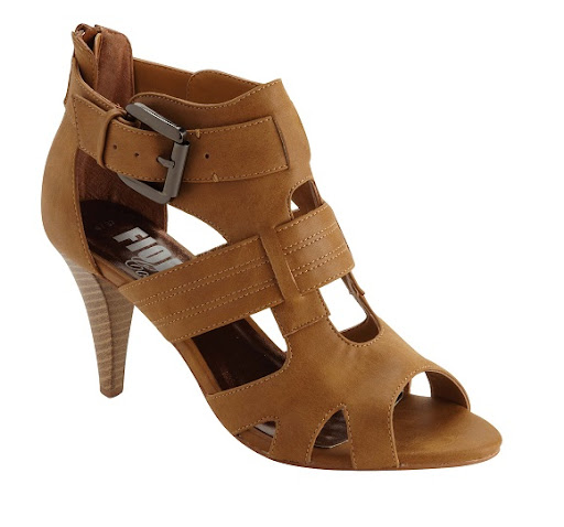 Matalan Cut-Out Tan Sandals