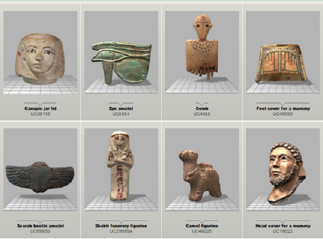More Stuff: UCL Petrie Museum launches 3D Online Object Library