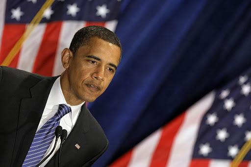 2008 年歐巴馬當選美國總統