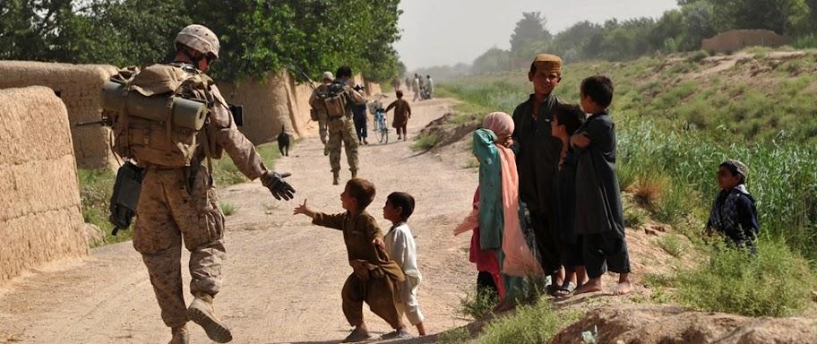 afganistan, ejercito eu, amor al otro, reflexiones