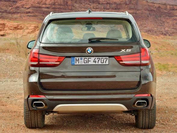 2014 BMW X5 - xDrive50i - Rear