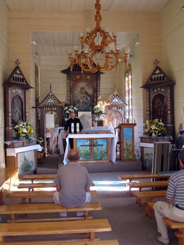 Wnętrze Kaplicy na Wodzie