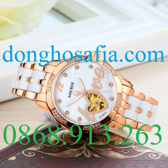 Đồng hồ nữ cơ Nourse 3061