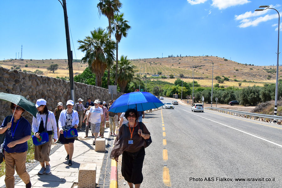 Табха - Капернаум. Экскурсия по Галилее. Гид в Израиле Светлана Фиалкова.