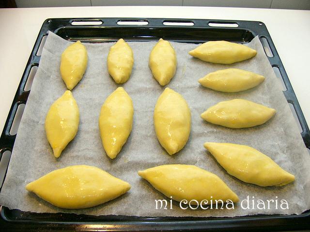 Empanadillas rusas Piroshki (Пирожки)