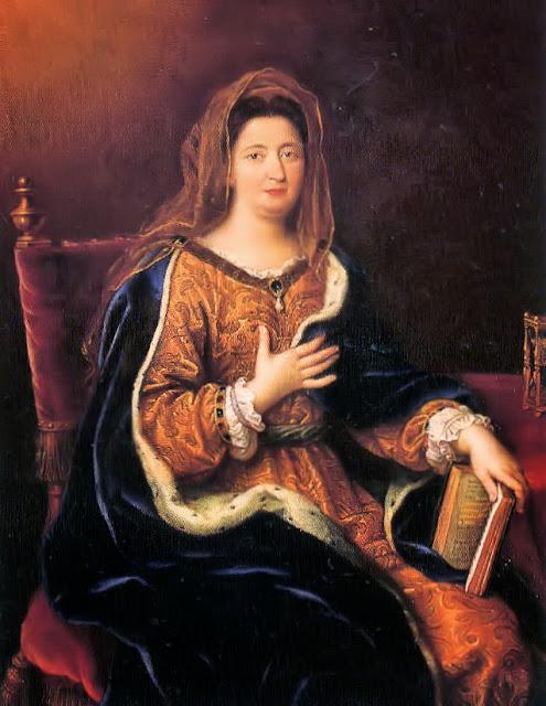 Pierre Mignard - Françoise d'Aubigné, marquise de Maintenon (1635-1719), représentée en Françoise Romaine,royal mistress