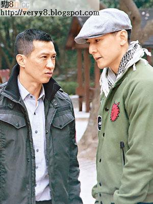 吳彥祖(右)與張家輝在新片中鬥戲,前者要睇心理醫生,後者笑稱精神分裂。