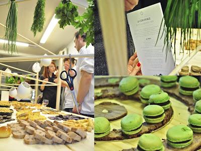La Conviviale. Buffet collaboratif par Jessica Pougeron et Lea Bougeault (Agence Miit Studio).