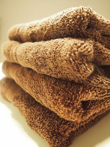 コストコのタオルは乾燥機でフワフワに