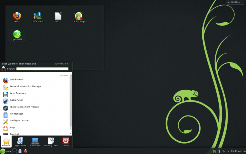 https://lh5.googleusercontent.com/-RTBm5J2z5CI/UTHLVDE9PlI/AAAAAAAADcY/K72veBzt-wQ/s800/openSUSE_12.3_KDE_desktop.jpg