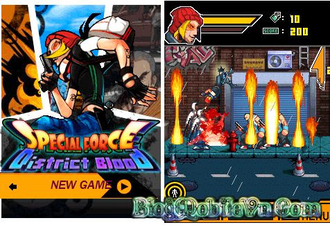 Game Java] Special Force5: District Blood - Wap java game