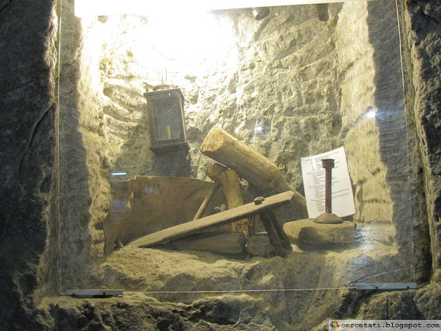 Tools used in the mine along the years