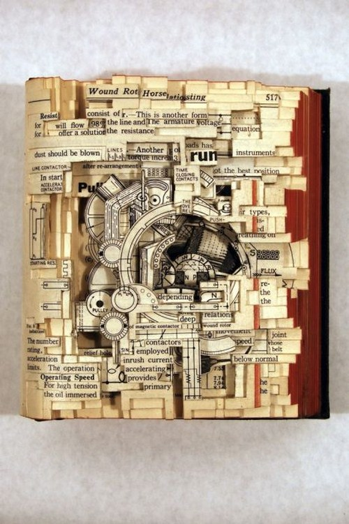 World's Most Creative Book Art Seen On www.coolpicturegallery.us