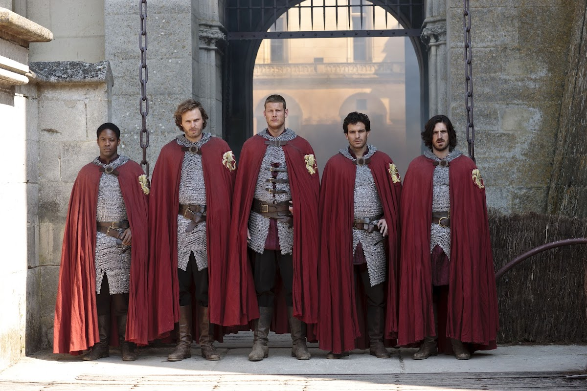 Adetomiwa Edun is Sir Elyan, Rupert Young is Sir Leon, Tom Hopper is Sir Percival, Santiago Cabrera is Sir Lancelot and Eoin Macken is Sir Gwaine,