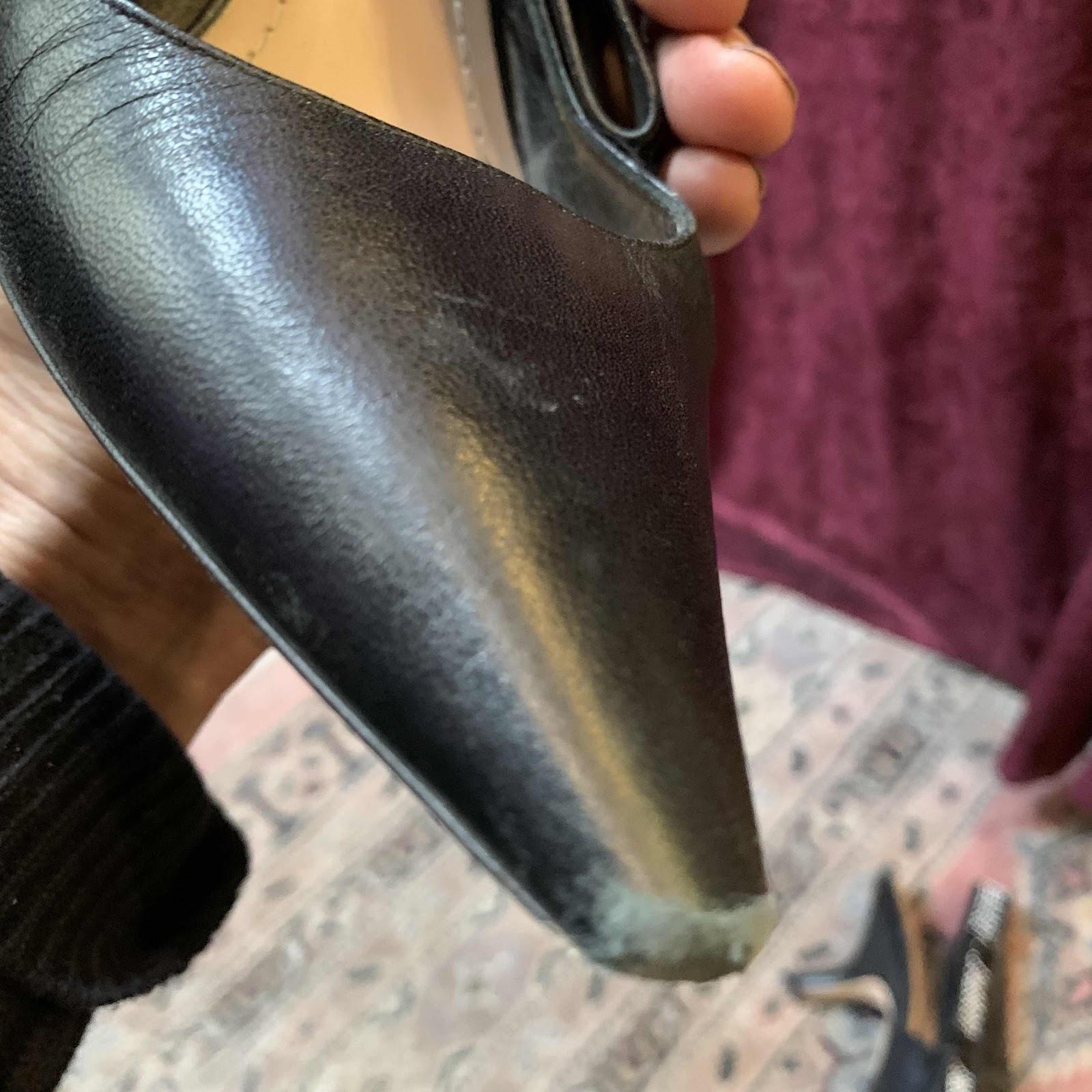 Christian Dior restauration réparation escarpins 2