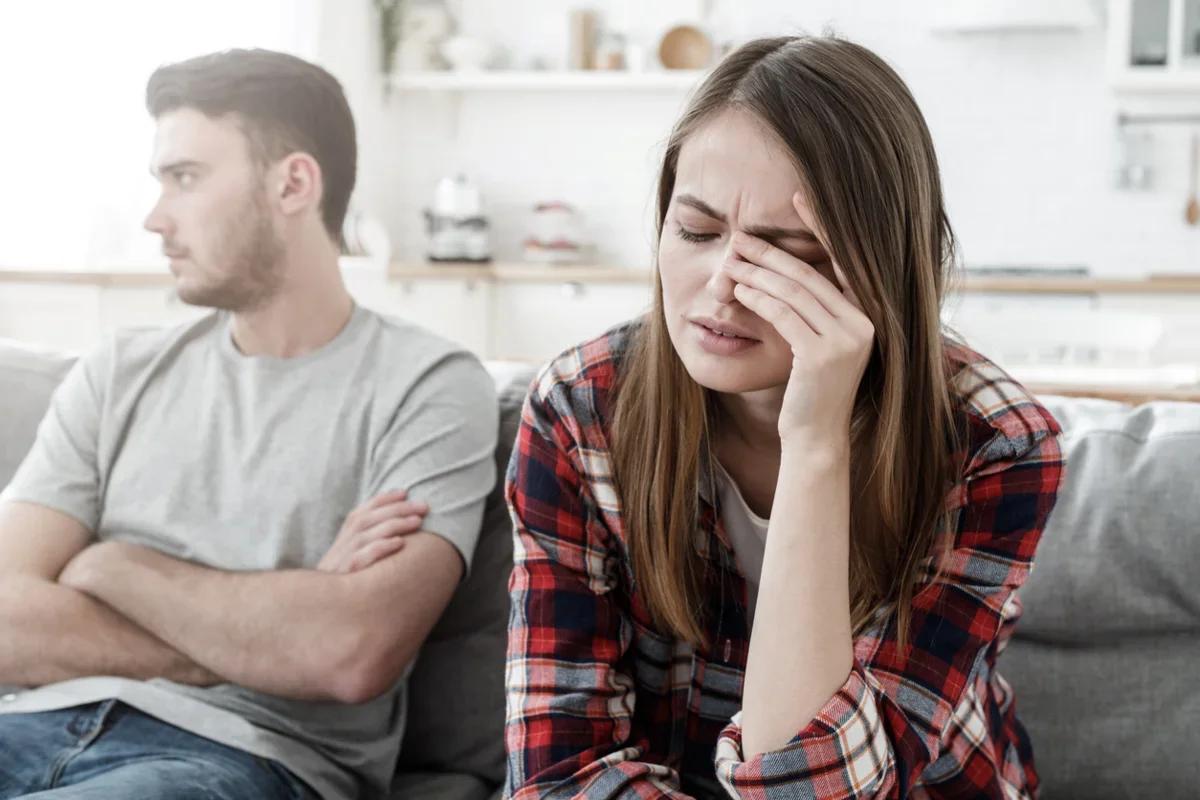 Супруги после ссоры
